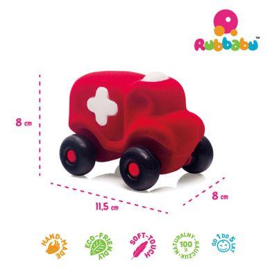 Rubbabu - Karetka Sensoryczna Czerwona Uzupełnienie A