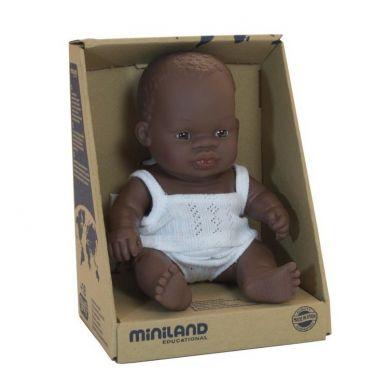 Miniland - Lalka Chłopiec Afrykańczyk 21 cm