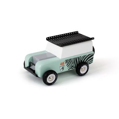 Candylab - Drewniany Samochód Drifter Zebra