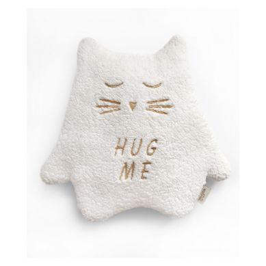 Malomi Kids - Przytulanka Termofor Kot Ecru Hug Me