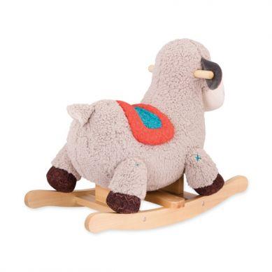 B.Toys - Pluszowa Owieczka na Biegunach