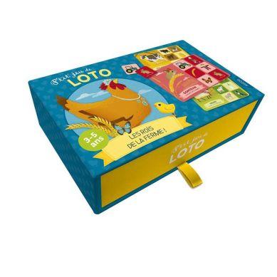 Auzou - Gra w Bingo Zwierzątka na Farmie 3+
