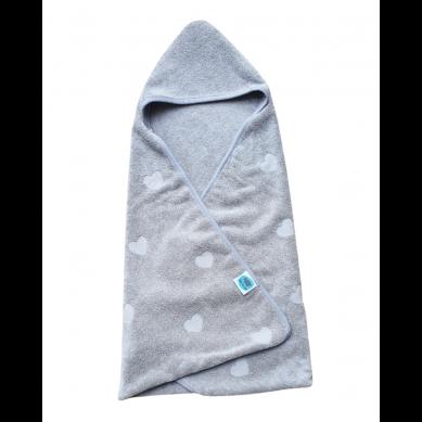 Pink no More - Ręcznik Bawełniany Grey 85x85