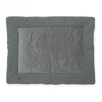 Jollein - Mata do Zabawy 80 x 100 cm Brick Velvet Storm Grey