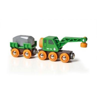 BRIO - World Kolejowy Wagon Dźwigowy