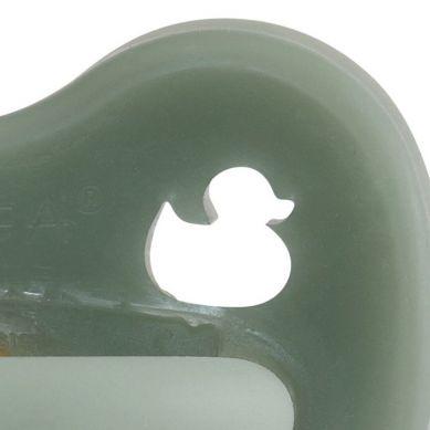 Hevea - Smoczek Anatomiczny Kauczukowy Moss Green 0-3m