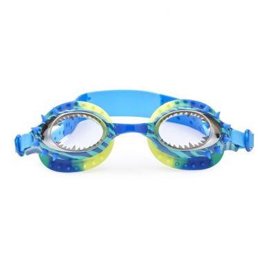 Bling2O - Okulary do Pływania Dinozaur Niebieskie 3+