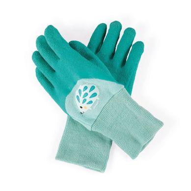 Janod - Mały Ogrodnik Rękawiczki do Prac Ogrodowych Niebieskie 3+