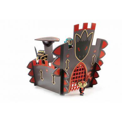 Djeco - Drewniany Zamek Smoka