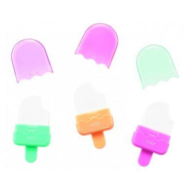 Ooly - Gumki Lody Na Patyku 2.0 3szt. 6+