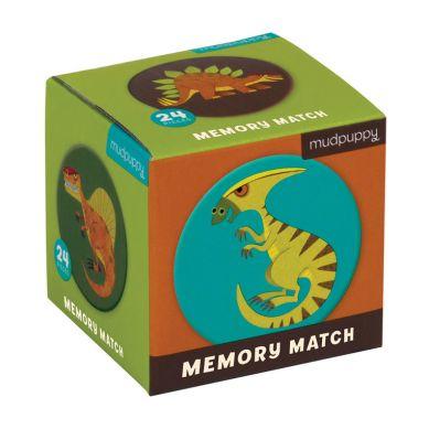 Mudpuppy - Gra Mini Memory Geometryczne Memory Dinozaury