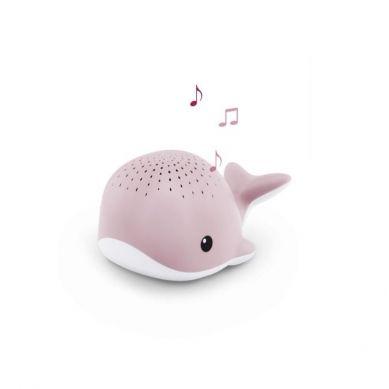 Zazu - Wally Projektor Wieloryb Pink