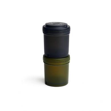 Herobility - Pojemnik 2x100ml Czarny/zielony 2 szt.