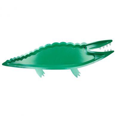 Meri Meri - Zestaw Półmisków Urodzinowych Alligator