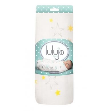 Lulujo - Kocyk Bambusowy Gwiazdki