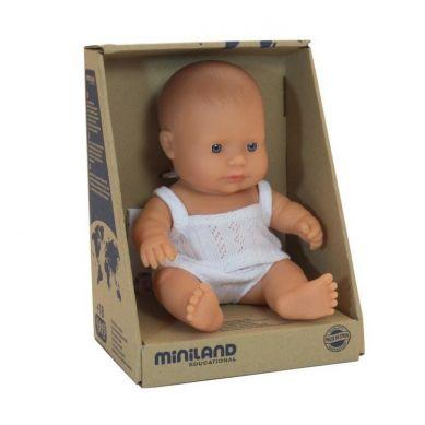 Miniland - Lalka Chłopiec Europejczyk 21cm