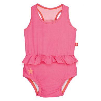 Lassig - Kostium do Pływania Jednoczęściowy z Pieluszką Light Pink UV 50+ 0-6m