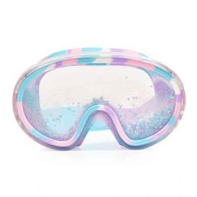 Bling2O - Maska do Pływania z Błękitnym Brokatem i Gwiazdkami 6+