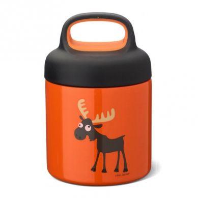Carl Oscar -  Temp Lunch Jar Termos ze Szlachetnej Stali Nierdzewnej Orange Moose