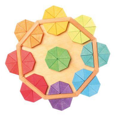 Grimm's - Kreatywne Puzzle Wpisane w Ośmiokąt 3+