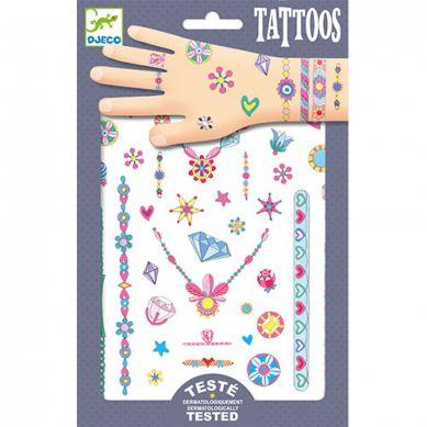 Djeco - TatuażeNeonowe Klejnoty Jenni