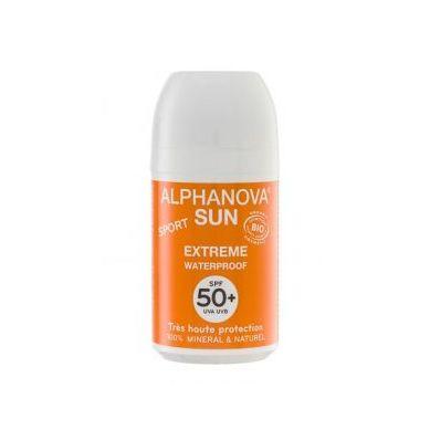 Alphanova Bebe - Bio Krem Przeciwsłoneczny w Kulce Filtr SPF50+ EXTREME SPORT