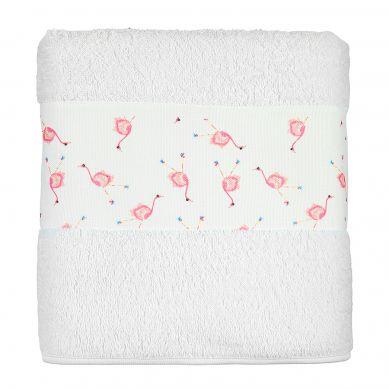 Maki Mon Ami - Duży Ręcznik Kąpielowy Flaming Maja