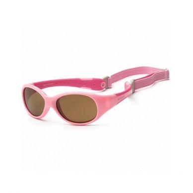 Koolsun - Okularki dla Dzieci Flex Pink Hot Pink 0-3 lat