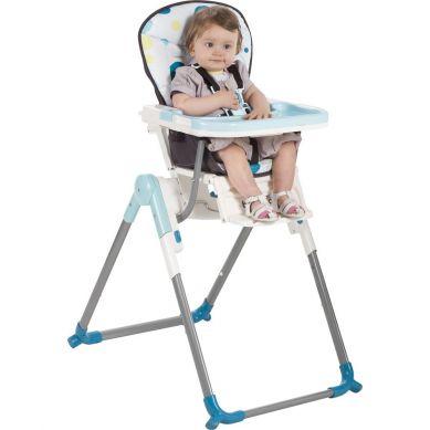 Babymoov - Krzesełko do Karmienia Wysokie Niebieskie