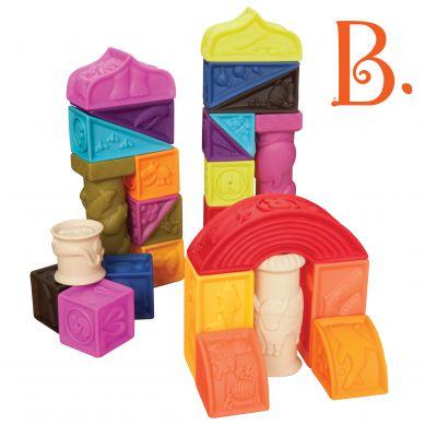 B. Toys Duży Zestaw Miękkich Klocków