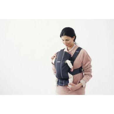 BabyBjorn - Nosidełko Mini 3D Mesh Antracytowy