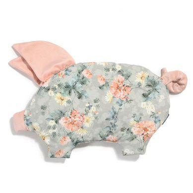 La Millou - Podusia do Wózka Sleepy Pig Velvet Collection Blooming Boutique Powder Pink