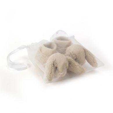 Jellycat - Buciki Bashful Beige Bunny