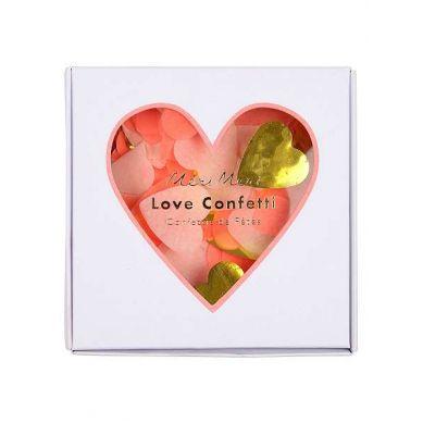 Meri Meri - Confetti Heart Box