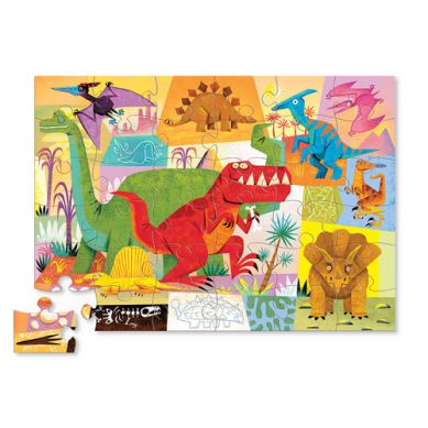 Crocodile Creek - Puzzle 36el. Dinozaury