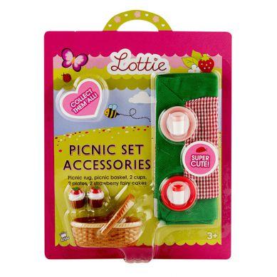 Lottie - Akcesoria dla Lalki Picnic Set