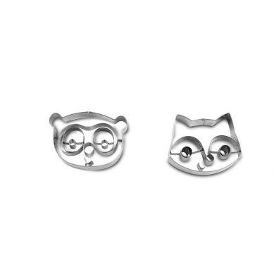 Lilliputiens - Metalowa Foremka Do Ciasteczek Mały Kucharz Lemur George 4+
