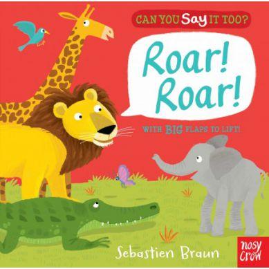 Wydawnictwo Usborne Publishing - Can You Say It Too? Roar, Roar