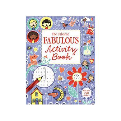 Wydawnictwo Usborne Publishing - Fabulous Activity Book