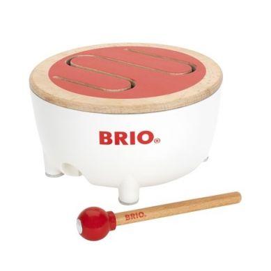 BRIO - Drewniany Bębenek Muzyczny