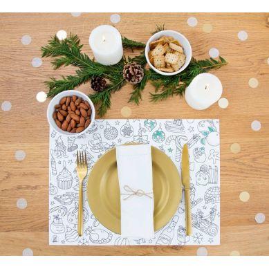 Omy - Podkładki do Kolorowania Christmas