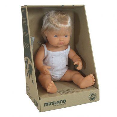 Miniland - Lalka Chłopiec Europejczyk 38cm