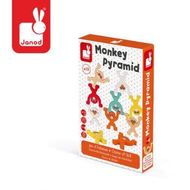 Janod - Gra Zręcznościowa Piramida Małpki