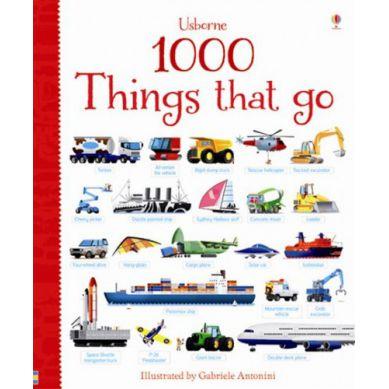 Wydawnictwo Usborne Publishing - 1000 Things That Go