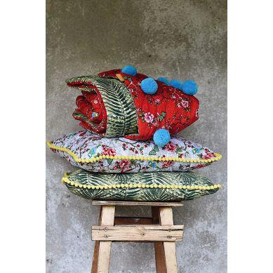 Lola y Lolo - Kocyk Motyli Raj Czerwony