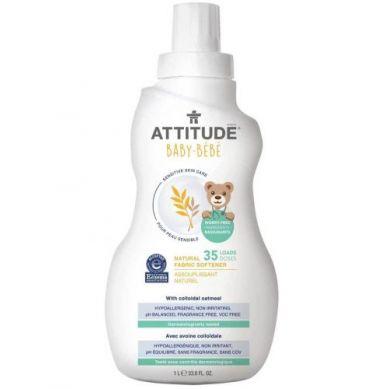 Attitude - Delikatny Płyn Zmiękczający do Płukania Tkanin Dziecięcych 1L