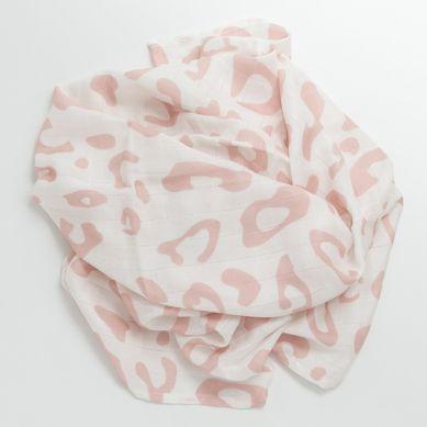 Bim Bla - Otulacz Bambusowo-bawełniany Leo Różowy