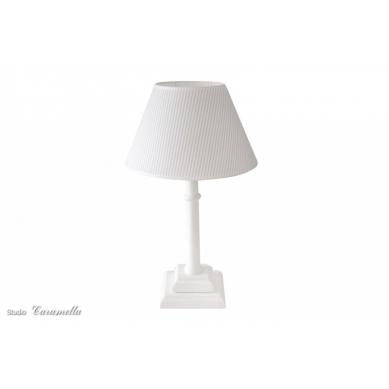 Caramella - Lampka Stojąca Błękitna w Paseczki