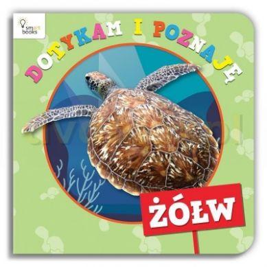 Wydawnictwo Smart Books - Żółw Dotykam i Poznaję
