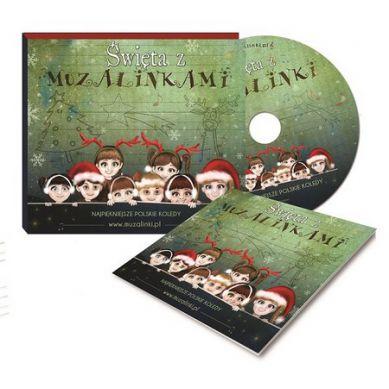 Wydawnictwo Kidimax - Płyta CD z Muzyką dla Dzieci Święta z Muzalinkami